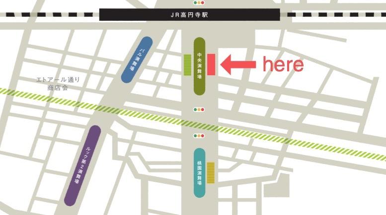 高円寺マップ